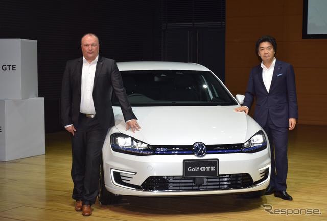 VW Golf GTE Conference