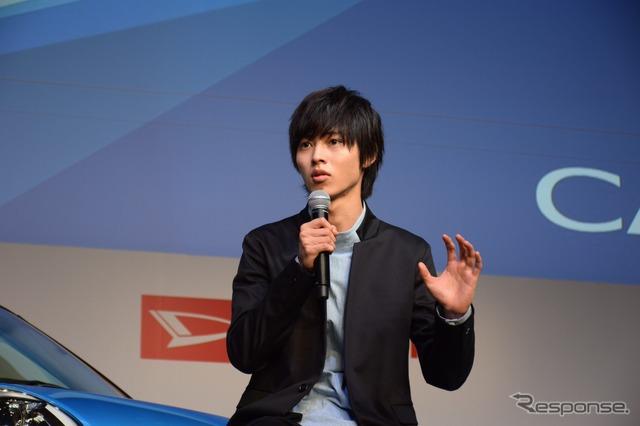 Daihatsu Cast TV ad presentation
