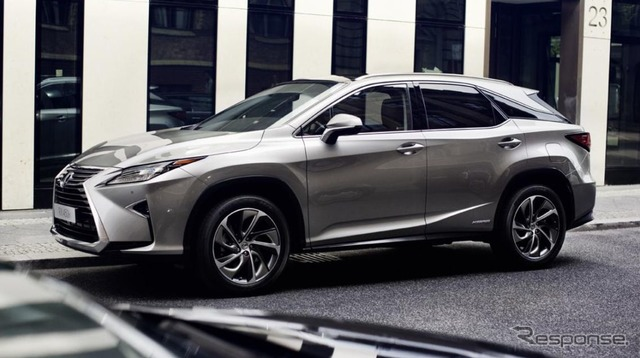 The all-new Lexus RX (European model)