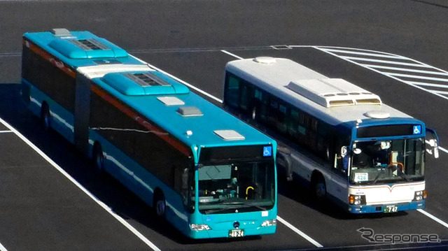 ประกาศโตเกียวเลือกเพียงผู้ประกอบการรถขนส่งของ BRT เชื่อมตัวเมือง และริมน้ำภาพที่มาคุฮาริใ