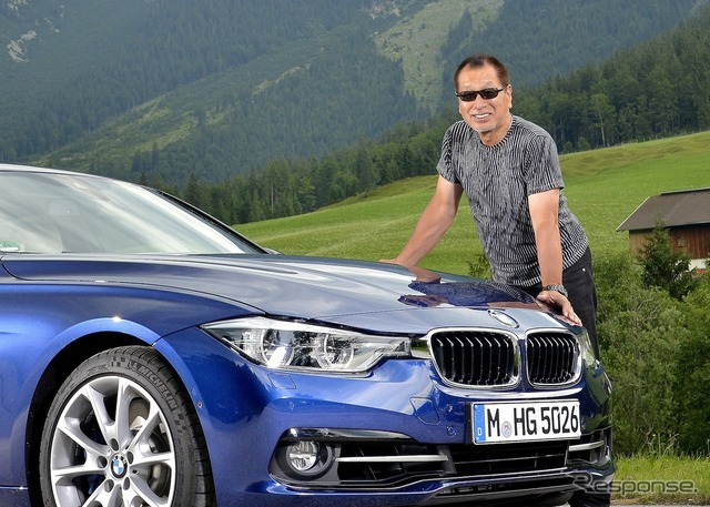 BMW 340i and also good for Mr