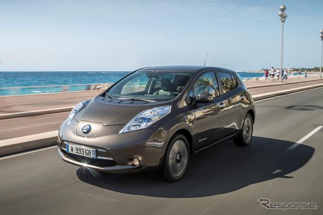 Nissan leaf 2016 models.