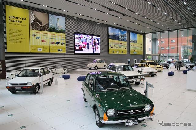 Subaru car exhibition