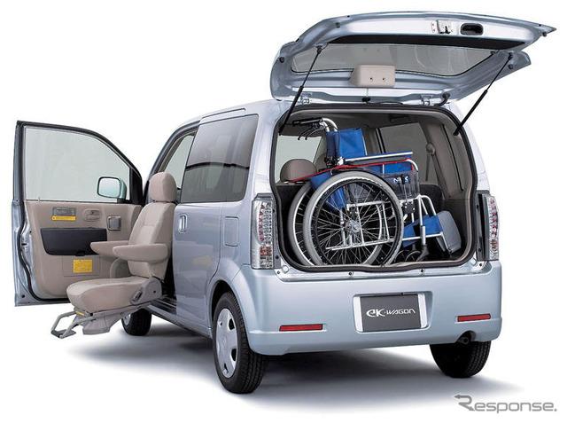 eK wagon ผู้โดยสารนั่งย้ายแผ่นงานข้อมูลจำเพาะเกี่ยวกับรถ