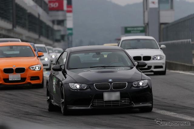 BMW van Maik driving lessons