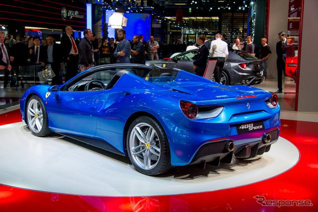 Ferrari spider 488 (Frankfurt Motor Show 15)