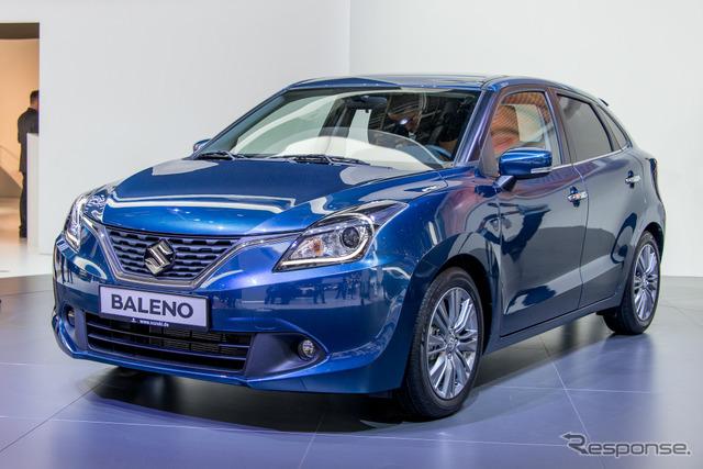 Suzuki Baleno (2015 Frankfurt Motor Show)