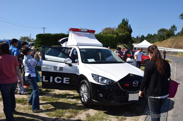 [马自达风扇会议] 高速警察部队被满意!归结为 cx   警车出现在