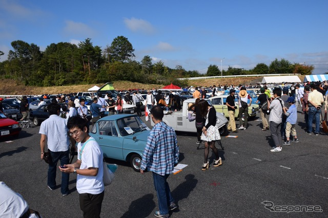 Mazda Fan Meeting at the 50th Anniversary of the Miyoshi Proving Ground