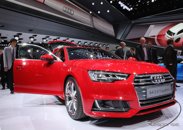 Audi A4 ใหม่ (แฟรงค์เฟิร์ตมอเตอร์ดู 15)