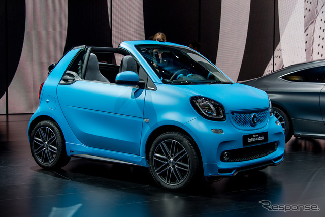 Smart Fortwo Cabrio (Frankfurt Motor Show 15)