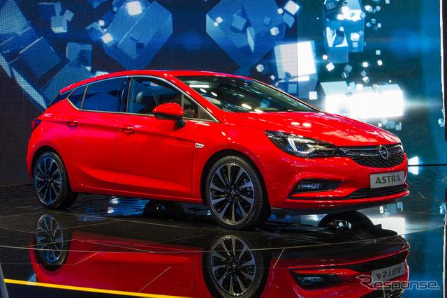 Opel Astra (Frankfurt Motor Show 15)