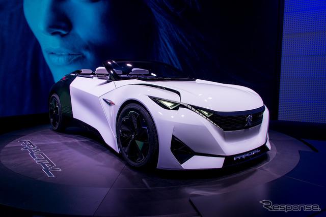 Peugeot fractal (Frankfurt Motor Show 15)
