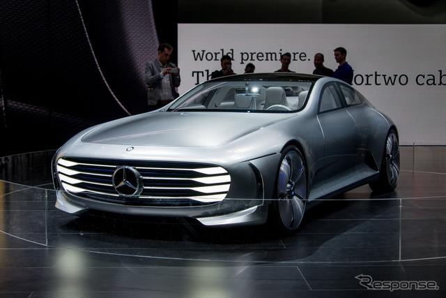 Mercedes-Benz concept IAA (Frankfurt Motor Show 15)