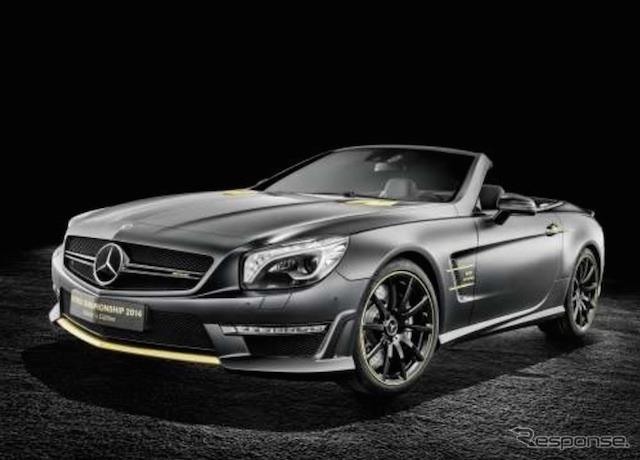 Mercedes - AMG SL63 World Championship 2014 collector's Edition (Lewis Hamilton model)