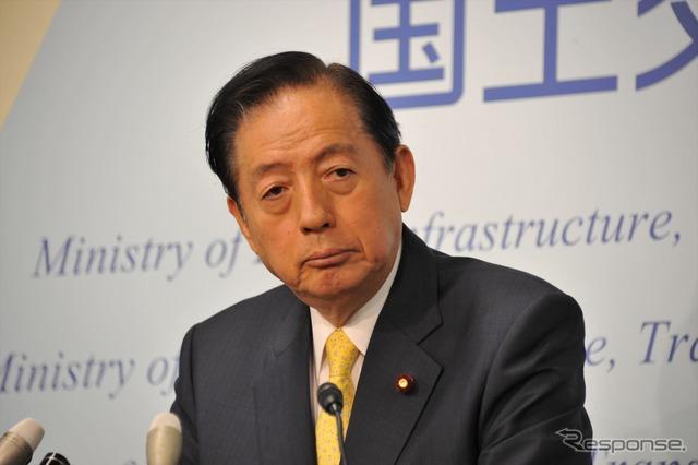 Transport Minister Akihiro OTA (25th and Kasumigaseki)