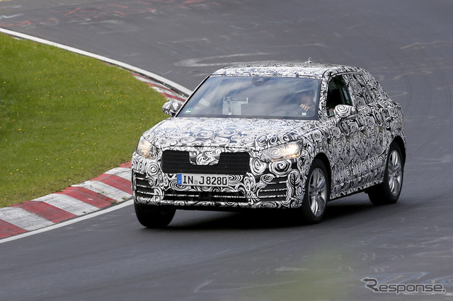 """Or which is Audi's new SUV """"Q2"""""""