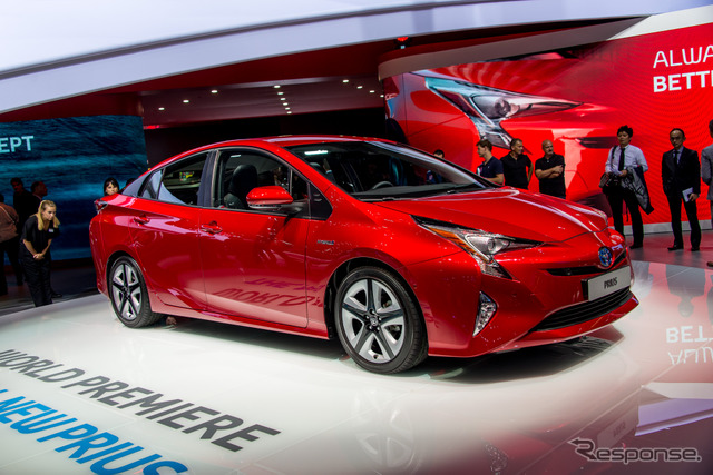 The all-new Toyota Prius (2015 Frankfurt Motor Show)
