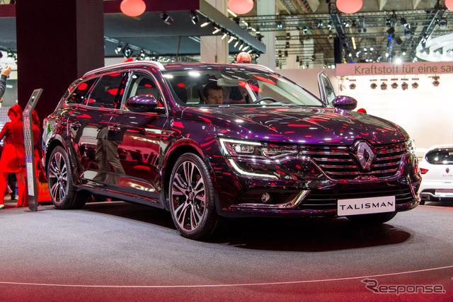 Renault talisman estate (Frankfurt Motor Show 15)