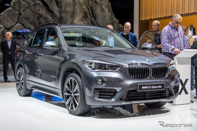 BMW X1 (Frankfurt Motor Show 15)