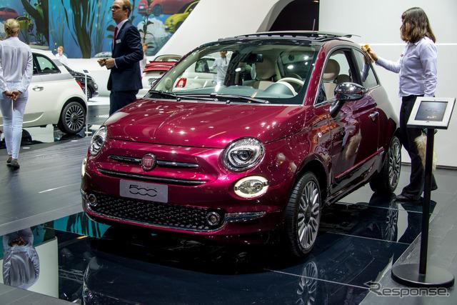 Fiat improved new 500 (Frankfurt Motor Show 15)