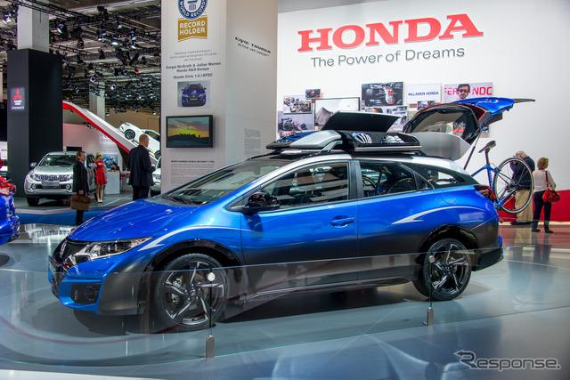 Honda Civic Tourer Active Life Concept at 2015 Frankfurt Motor Show
