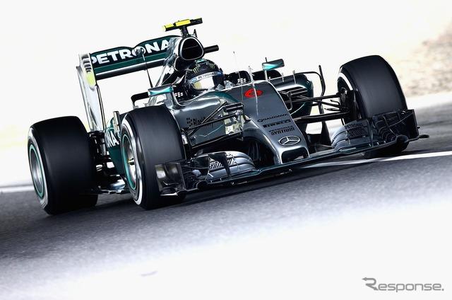 Nico Rosberg (2015F1 Japan GP-free practice three times)