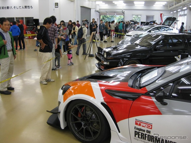 23rd Festival 2015 on all school of Toyota East vehicle exhibition