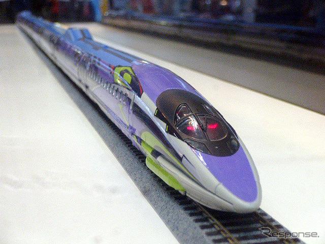 โฮ ขนาดรุ่นของชินคันเซ็น 500 ชนิด EVA โครงการ (อาริอาเกะท่องเที่ยว EXPO ญี่ปุ่นโตเกียว 9/26)