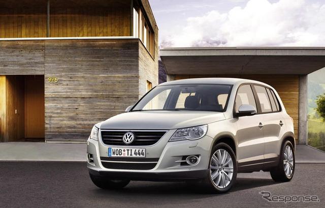 VW Tiguan founder