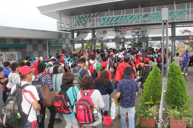 2015F1 Japan GP race day