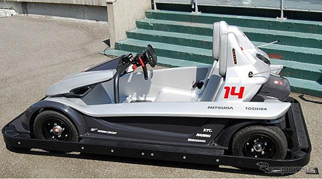 Suzuka Circuit's EV go-karts
