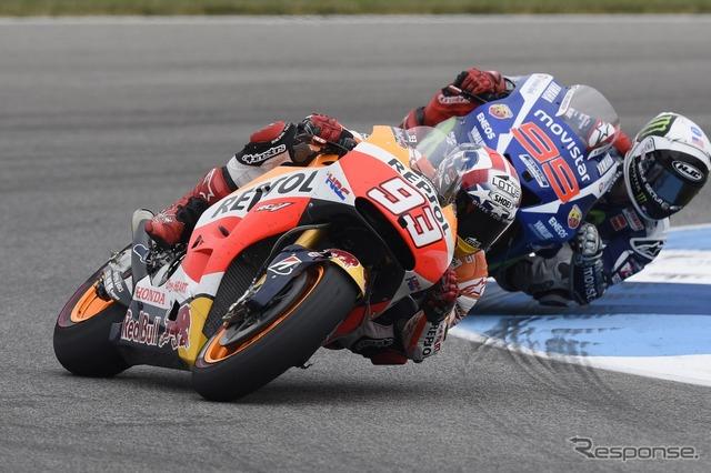 Marc Marquez in MotoGP