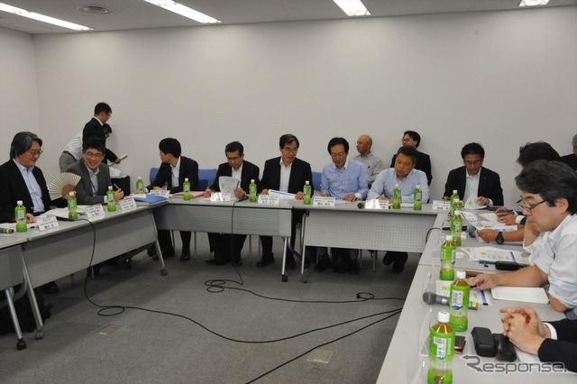 Automatic driving business Committee for future vision working group (9/29 and Kasumigaseki)