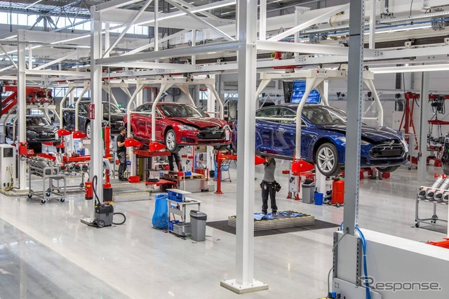 Netherlands-new plant for Tesla