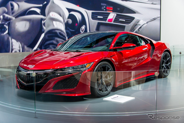 New Honda NSX at 2015 Frankfurt Motor Show