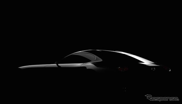 Teaser image of Mazda's Sports Car Concept