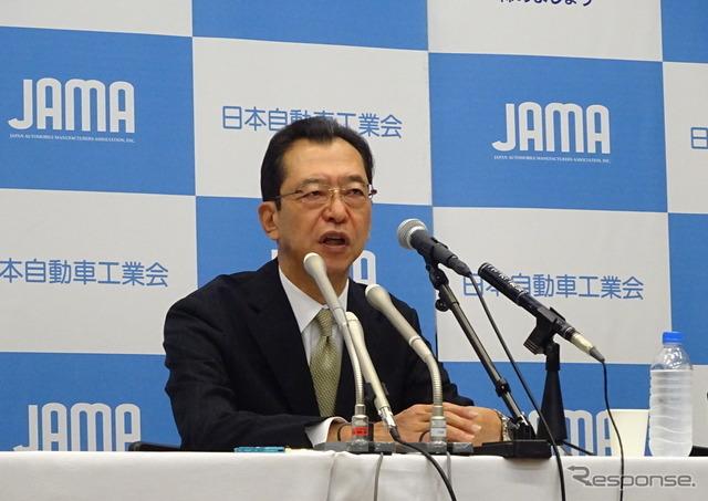 JAMA's Chairman Fumihiko Ike