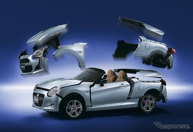Daihatsu Copen dress-up parts