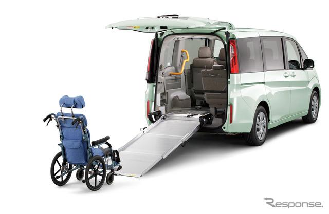 Honda step wagon wheelchair spec car G 3-row ride