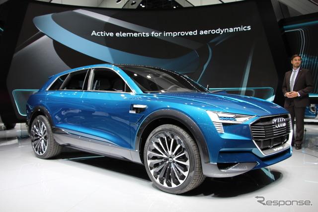 Audi e-Tron, the Quattro concept (Frankfurt Motor Show 15)