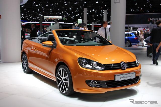 VW Golf cabriolet (Frankfurt Motor Show 15)