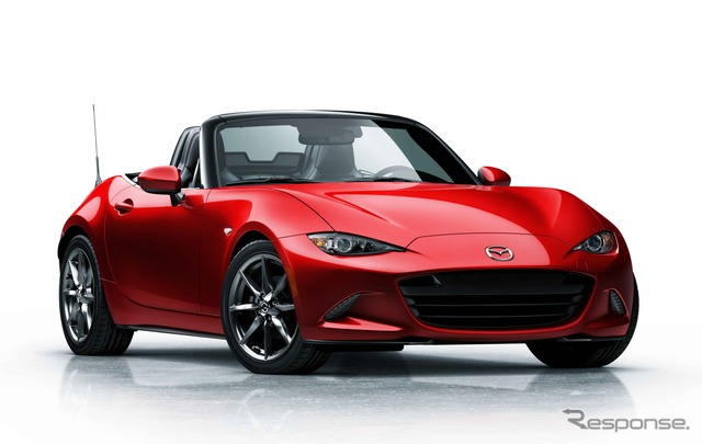 The all-new Mazda MX-5 Miata (North American model)
