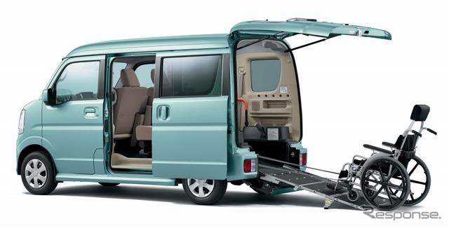 Suzuki every wagon wheelchair vehicles