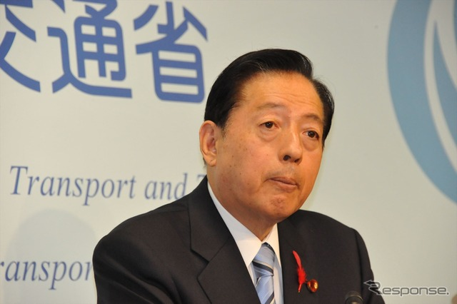 Transport Minister Akihiro OTA (-6 Kasumigaseki)