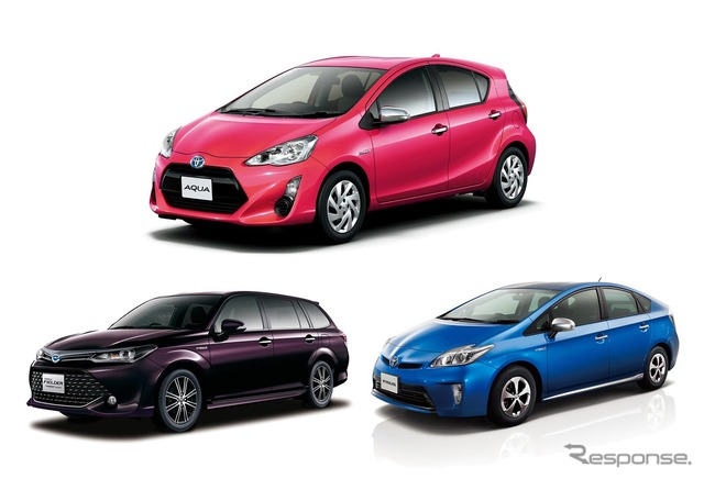 Toyota dominated the 2015 fiscal year first-half car sales ranking by top three