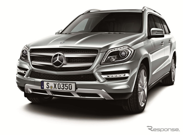 Mercedes-Benz, the GL350 BLUETEC 4-Matic (reference image)