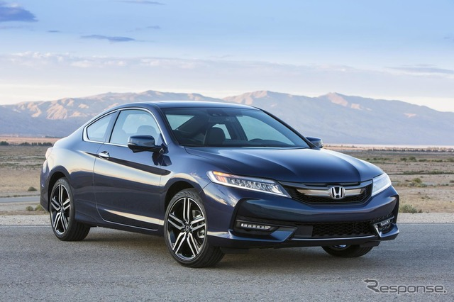 Honda Accord Coupe model 2016