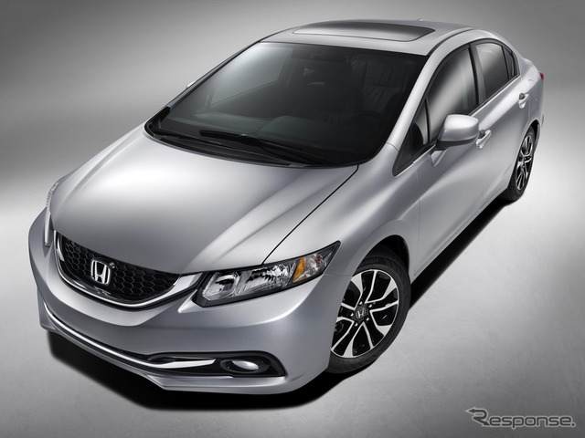 2013 Honda Civic models.