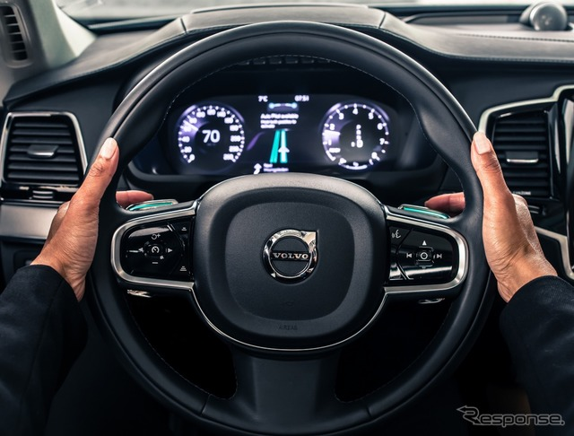 Driver interface for managing, developed by Volvo car automatic or manual switching